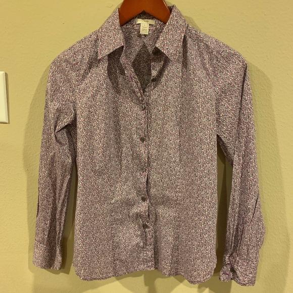 JCREW J. Crew Liberty Print Shirt Women's Size 0